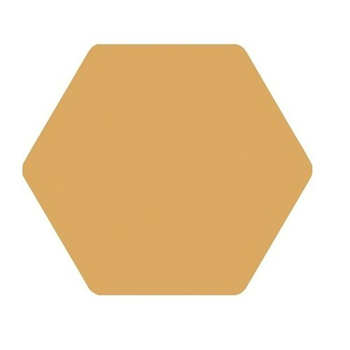 Carrelage tomette jaune 25x29 cm TOSCANA AMARILLO -   - Echantillon Bestile