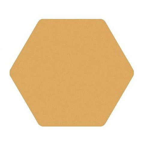 Carrelage tomette jaune 25x29 cm TOSCANA AMARILLO -   - Echantillon - zoom
