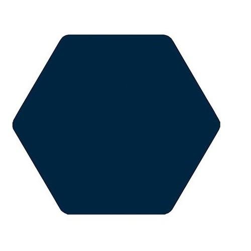Carrelage tomette bleu marine 25x29cm TOSCANA MARINO -   - Echantillon - zoom