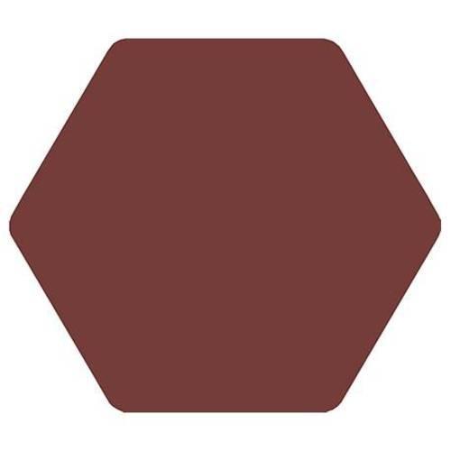 Carrelage tomette bordeaux 25x29cm TOSCANA MORADO-   - Echantillon Bestile