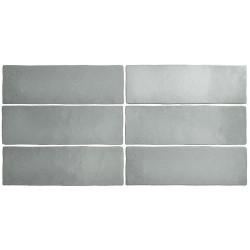 Faience dénuancée gris 6.5x20 cm MAGMA GREY STONE 24960 - 0.  - Echantillon Equipe
