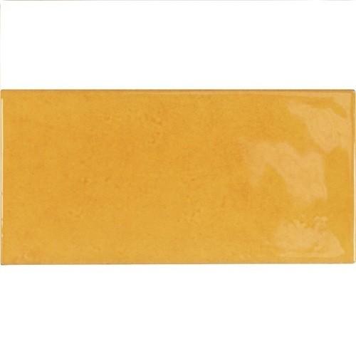 Faience effet zellige doré 6.5x13.2 VILLAGE TUSCANY GOLD 25574- - Echantillon Equipe