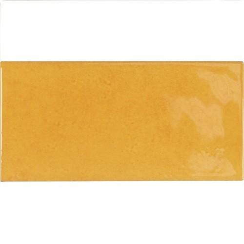 Faience effet zellige doré 6.5x13.2 VILLAGE TUSCANY GOLD 25574- - Echantillon - zoom