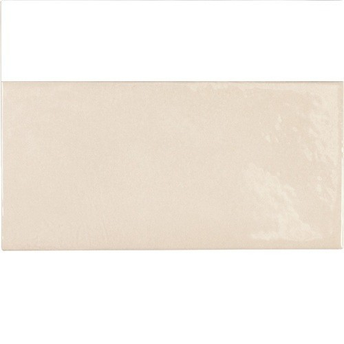 Faience effet zellige beige 6.5x13.2 VILLAGE MUSHROOM 25586- 0.  - Echantillon Equipe