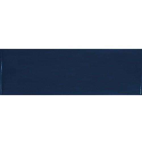 Faience effet zellige bleu nuit 6.5x20 VILLAGE ROYAL BLUE 25630 - 0.  - Echantillon - zoom