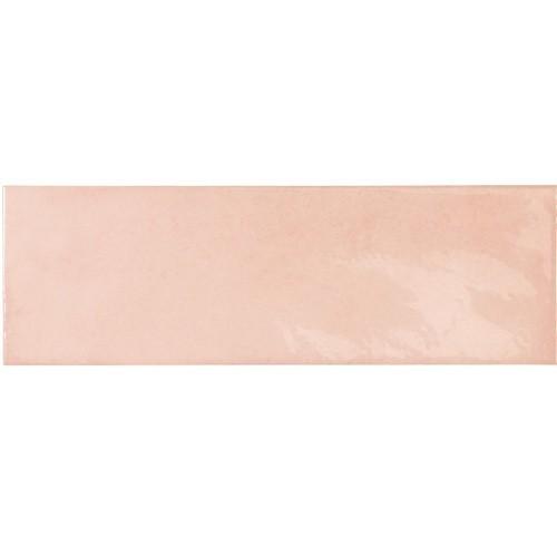 Faience effet zellige rose 6.5x20 VILLAGE ROSE GOLD 25635 - 0.  - Echantillon Equipe