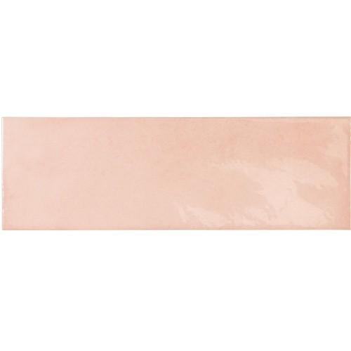 Faience effet zellige rose 6.5x20 VILLAGE ROSE GOLD 25635 - 0.  - Echantillon - zoom
