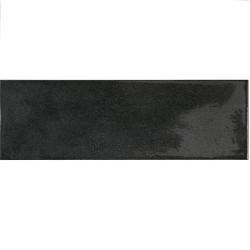 Faience effet zellige noir 6.5x20 VILLAGE BLACK 25641 -   - Echantillon Equipe