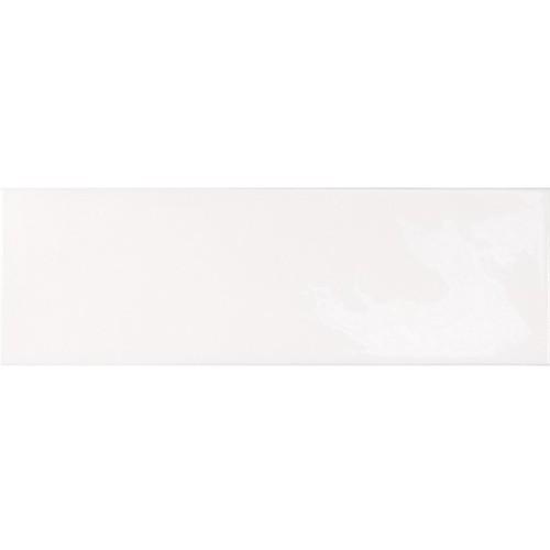 Faience effet zellige blanche 6.5x20 VILLAGE WHITE 25642 -  - Echantillon Equipe