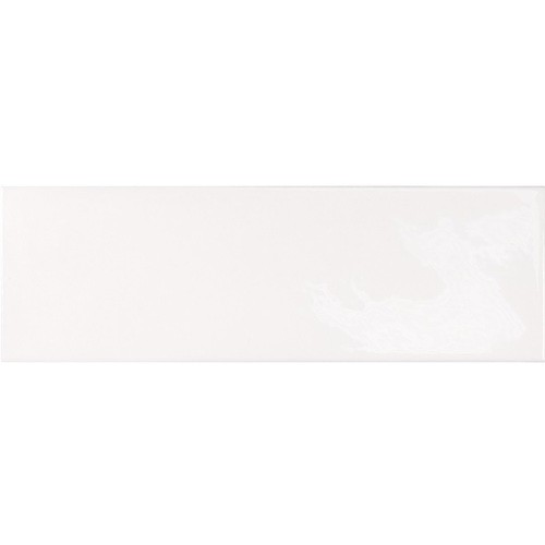 Faience effet zellige blanche 6.5x20 VILLAGE WHITE 25642 -  - Echantillon - zoom