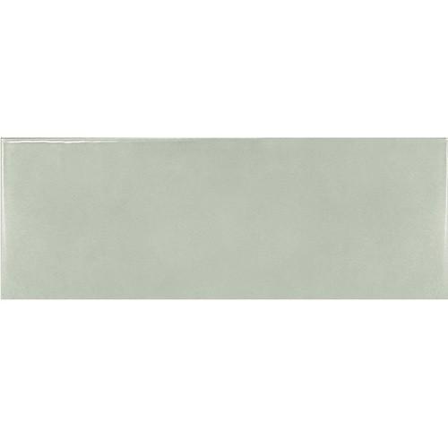 Faience effet zellige vert d'eau 6.5x20 VILLAGE MINT 25643 - 0.  - Echantillon Equipe