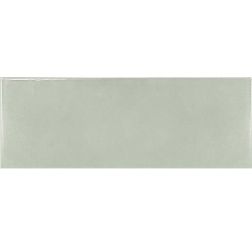 Faience effet zellige vert d'eau 6.5x20 VILLAGE MINT 25643 - 0.  - Echantillon - zoom