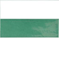 Faience effet zellige vert émeraude 6.5x20 VILLAGE ESMERALD GREEN 25645 -   - Echantillon Equipe