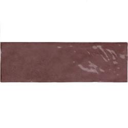 Faience nuancée effet zellige violet 6.5x20 RIVIERA JUNEBERRY 25844- - Echantillon Equipe
