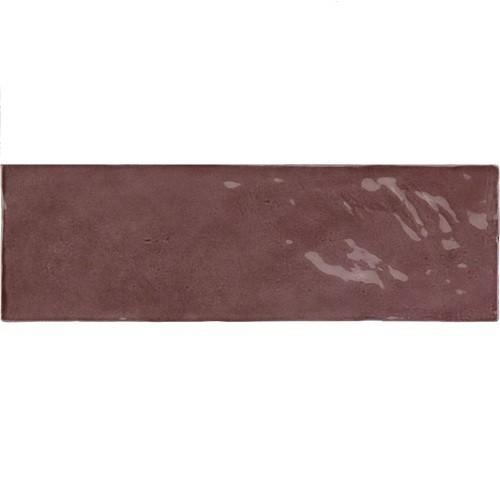 Faience nuancée effet zellige violet 6.5x20 RIVIERA JUNEBERRY 25844- - Echantillon - zoom