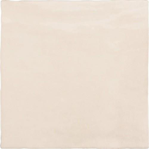 Faience nuancée effet zellige beige 13.2x13.2 RIVIERA WHEAT 25856-  - Echantillon Equipe