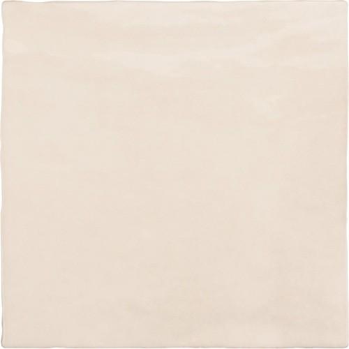 Faience nuancée effet zellige beige 13.2x13.2 RIVIERA WHEAT 25856-  - Echantillon - zoom