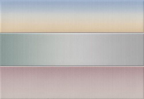 Faience colorée pastel 23x33.5 cm Heian Multicolor -   - Echantillon - zoom