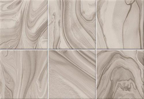 Faïence effet terre mêlée beige 23x33.5 MANKAI NUEZ -   - Echantillon - zoom