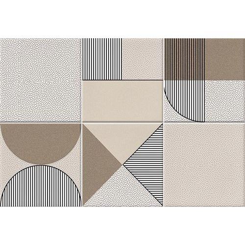 Faïence géométrique beige/marron 23x33.5 NAGO NUEZ -   - Echantillon Vives Azulejos y Gres