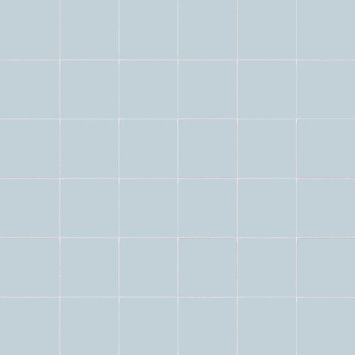 Carrelage uni 5x5 cm POLVERE MATT sur trame -   - Echantillon - zoom