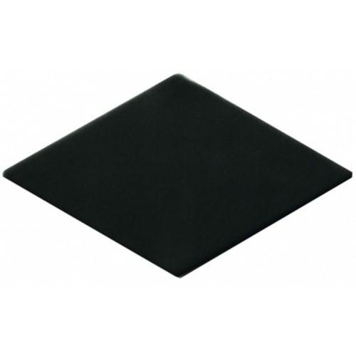 Carrelage losange noir 15x8,5cm ROMBO10 CARBO -   - Echantillon Natucer