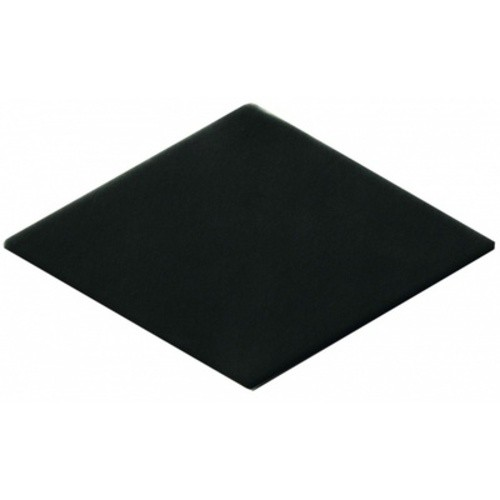 Carrelage losange noir 15x8,5cm ROMBO10 CARBO -   - Echantillon - zoom