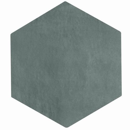 Carrelage tomette gris bleu 22.5x26cm CONCRET PARIS - 0.6  - Echantillon Natucer