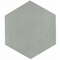 Carrelage tomette grise 22.5x26cm CONCRET ROMA - 0.6  - Echantillon Natucer