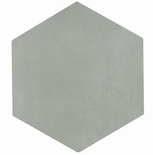Carrelage tomette grise 22.5x26cm CONCRET ROMA - 0.6  - Echantillon - zoom