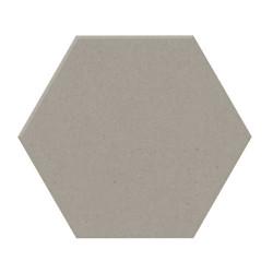 Carrelage tomette design unie Gris taupe STORM 15x17cm NEW PANAL - 0.  - Echantillon Natucer
