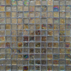 Malla Boreal Perla - Mosaique en verre 30x30cm - unité - Echantillon Decora