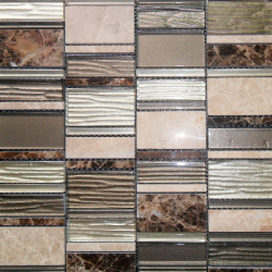 Malla Etrusco Emperador - Mosaique en verre - Echantillon Decora