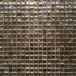 Malla Graffiti Gold - Mosaique en verre 30x30cm - unité - Echantillon Decora