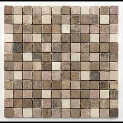 Mosaique marbre beige - Echantillon Barwolf