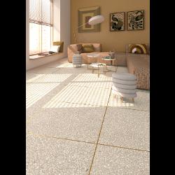 Carrelage imitation granito terrazzo 60x60 cm PORTOFINO Crema -   - Echantillon Vives Azulejos y Gres