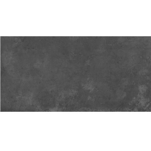 Carrelage effet Béton ICON UNI BLACK 30x60cm rect-   - Echantillon - zoom