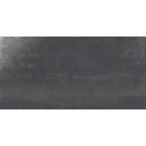 Carrelage grand format style métallisé rectifié IONIC STEEL 60x120 cm -   - Echantillon IBERO