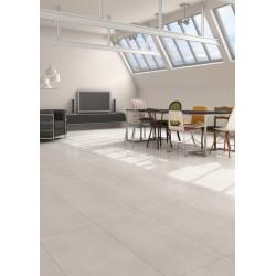 Carrelage blanc rectifié 45x90cm RUHR-R BLANCO -   - Echantillon Vives Azulejos y Gres