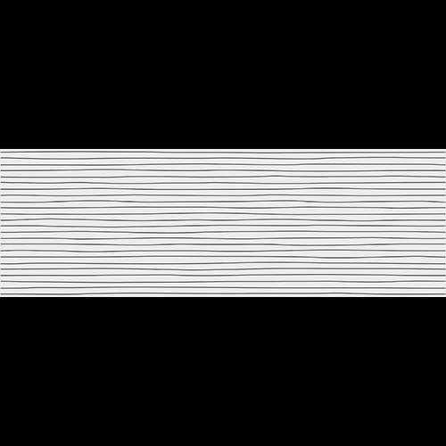 Faience INUIT Black pâte blanche 25x75cm -  - Echantillon - zoom