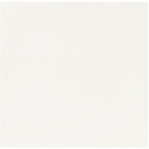 Carrelage uni blanc 33x33 cm HANOI WHITE -   - Echantillon Realonda