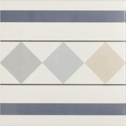 Carrelage de bordure 20x20 cm BRISTO -   - Echantillon Ribesalbes