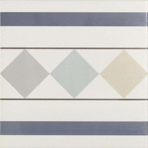Carrelage de bordure 20x20 cm BRISTO -   - Echantillon - zoom