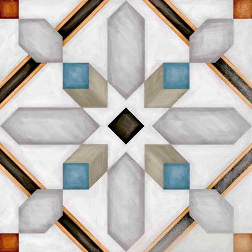 Carrelage imitation ciment 20x20 cm Demel -   - Echantillon - zoom