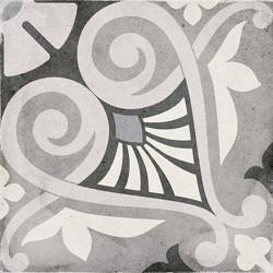 Carrelage style ciment 20x20 cm ART NOUVEAU OPERA GREY 24418 -   - Echantillon Equipe