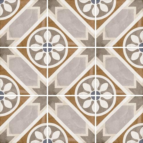 Carrelage style ciment 20x20 cm ART NOUVEAU APOLLO COLOUR 24401 -   - Echantillon - zoom