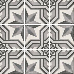 Carrelage style ciment 20x20 cm ART NOUVEAU CINEMA GREY 24414 -   - Echantillon Equipe