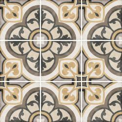 Carrelage style ciment 20x20 cm ART NOUVEAU MAJESTIC COLOURS 24402 -   - Echantillon Equipe
