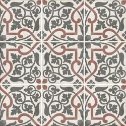 Carrelage style ciment 20x20 cm ART NOUVEAU FOLIES BERGÈRE 24406 -   - Echantillon Equipe