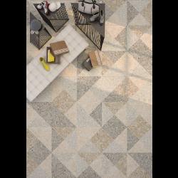 Carrelage imitation ciment 60x60 cm ORIYAS Natural anti-dérapant R09 -   - Echantillon Vives Azulejos y Gres